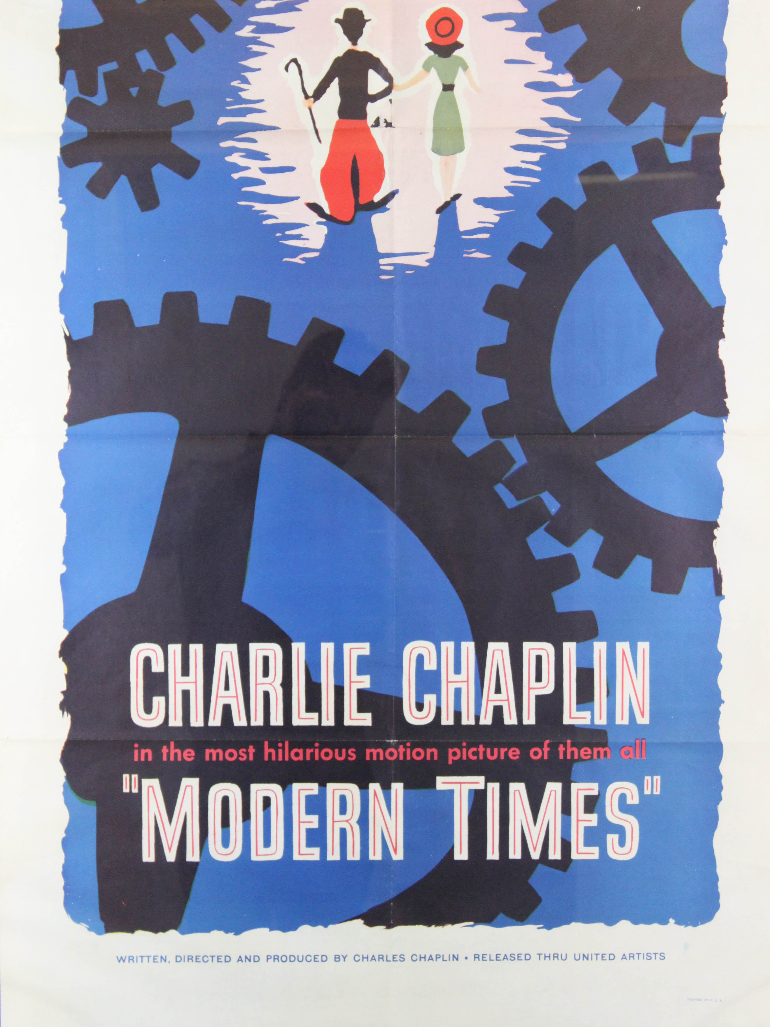 modern times film critique A review of the 1936 movie modern times directed by and starring charles chaplin on the 20/20 movie reviews website.