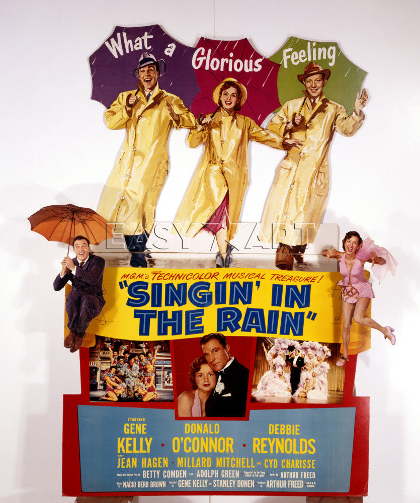 Singin' In The Rain, 1952, M.G.M., Theatre Display